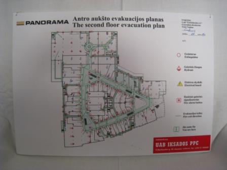 evakuacinis planas